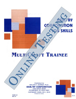 MultiCraft Trainee - Form A3 (Online, Scrambled)