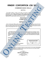 Combined Basic Skills (Metric) - Form A4-M (Online)