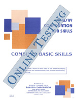 Combined Basic Skills (Alternate Equivalent) - Form B2 (Online)