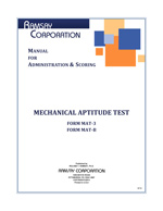 Mechanical Aptitude Test Manual