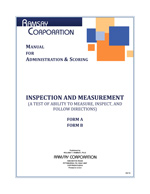 Inspection and Measurement Manual
