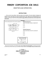 Drafter (CAD Operator) - Form DDC