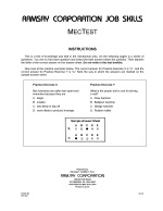 MecTest (Alternate Equivalent) - Form BV-R