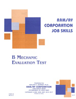 B Mechanic Evaluation - Form A5