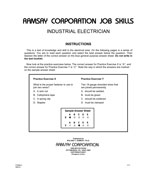 Industrial Electrician - Form A