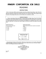 Mechanical Learner Series - Reading - Form CMB
