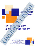 MultiCraft Aptitude Test - Form A7 (Online)