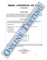Electrical Learner Series - Reading - Form A1 (Online)
