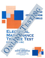 Electrical Maintenance Trainee - Form UKE-1RC (Online, Scrambled)