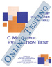 C Mechanic Evaluation - Form A5 (Online)