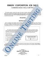 Combined Basic Skills (Alternate Equivalent, Metric) - Form B4-M (Online)