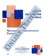 Mechanical Maintenance Trainee - Form A (Online)
