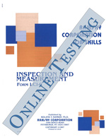 Inspection and Measurement - Form A (Online)