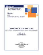 Mechanical Technician A Manual