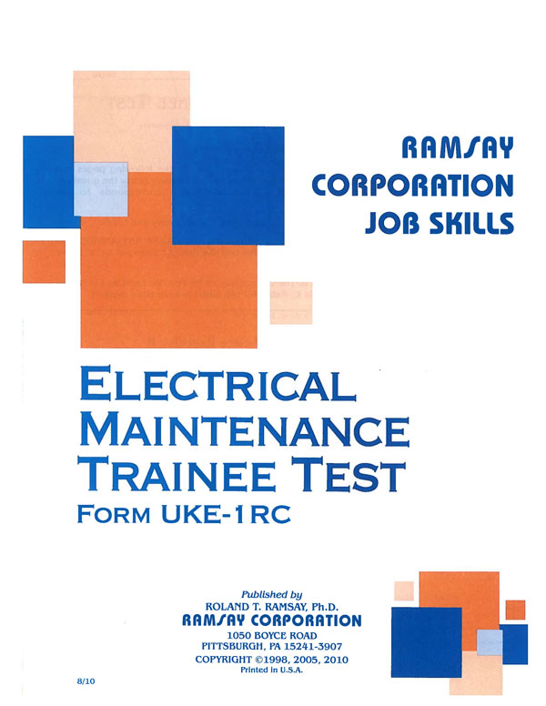 Electrical maintenance trainee form uke 1rc ramsay corporation electrical maintenance trainee form uke 1rc fandeluxe Choice Image