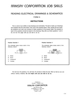 Reading Electrical Drawings & Schematics - Form A
