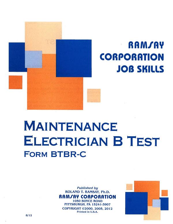 maintenance electricain