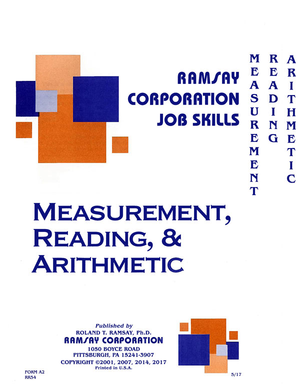 Measurement, Reading, & Arithmetic - Form A2